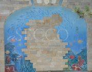 Росписи стен и потолков в интерьере(фреска),