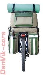 Велосумка (велобаул) DenVik-cora