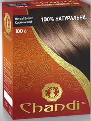 Лечебная аюрведическая краска для волос Chandi. Индия