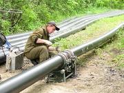 Строительство трубопроводов: водопровода. Монтаж и сварка труб