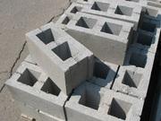 Шлакоблок,  кольца бетонные,  кирпич,  плитка фасадная облицовочная