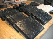 Оборудование для производства пластиковых форм для  тротуарной плитки,