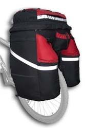 Велосумка,  велорюкзак,  (велобаул) DenVik-turist.
