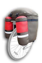 Велосумка,  велорюкзак,  (велобаул) DenVik- city-lite.