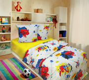 Детский комплект постельного белья,  бязь ( хлопок 100% )