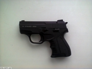 Стартовый пистолет Stalker 906 чёрный или хром с резьбой.