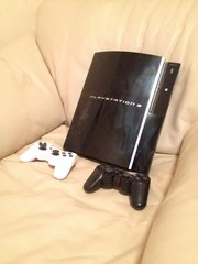 Sony PlayStation 3 FAT 40GB Kmeaw 3.55