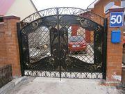 изготовление решеток,  ворот ,  оградок из металла
