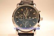 Мужские,  элитные,  наручные часы Patek Philippe Geneve (Black Steel)