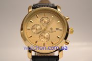 Элитные мужские наручные часы Patek Philippe Geneve (Gold)
