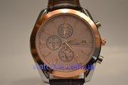 Качественные мужские наручные часы Omega Seamaster (Copper), гарантия