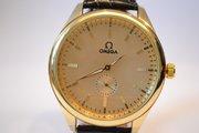 Качественные мужские наручные часы Omega Gold, гарантия
