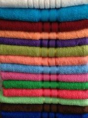 Махровые полотенца гладкокрашеные