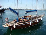 Срочно продам яхту Конрад 45,  кэч,  кр.дерево