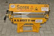 Станок для гибки металла ZGR 600 польского производителя Sorex