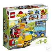Мои первые машинки и грузовики LEGO DUPLO