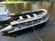 Надувные моторные лодки КАПРАЛ с фальшбортом.