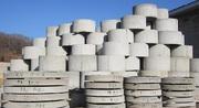 Кольца,  крышки,  днища бетонные для колодцев цена Николаев