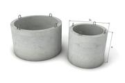 Кольца колодезные бетонные кс 10,  кс 15 купить в Николаеве