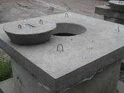 Крышки,  днища бетонные для колодцев доставка,  монтаж Николаев
