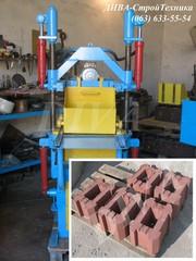 Вибропресс для производства столбовых блоков цена