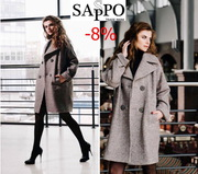 пальто женское демесезонное и зимнее в асортименте