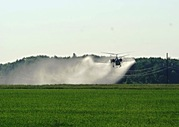 Авиаобработка посевов сои гороха картошки вертолетами мотодельталетами самолетами