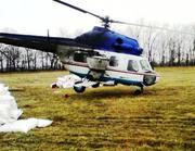 Авіація для внесення міндобрив: вертоліт літак