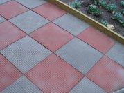 Тротуарная вибролитая плитка Печенье